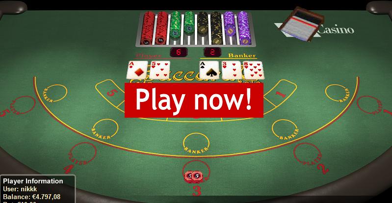 play baccarat inter casino