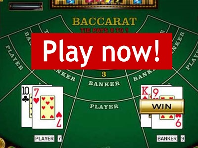 play baccarat bet365