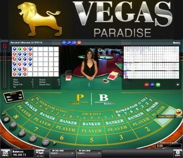 VP Live Dealer Multi-Player Baccarat Game